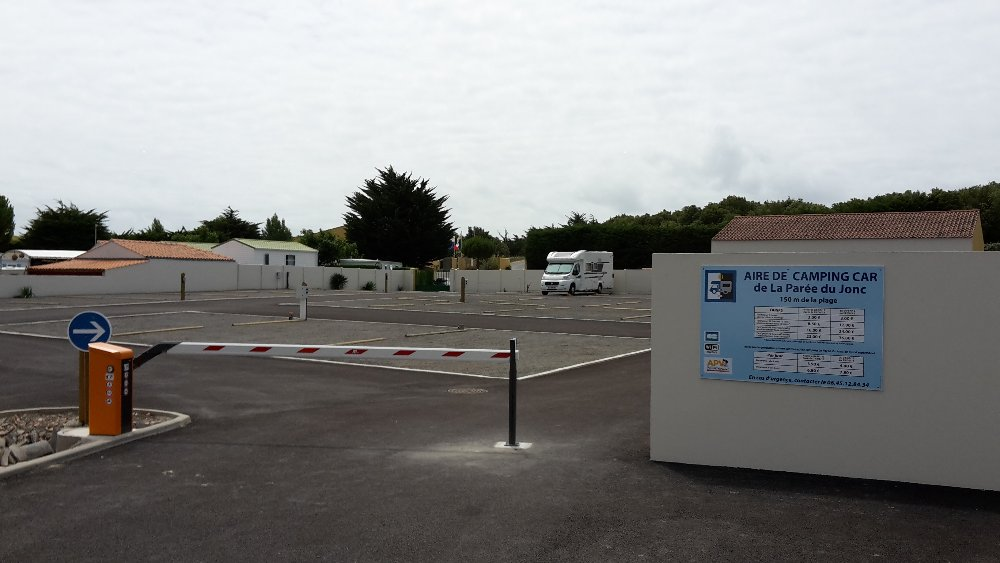 Aire camping-car à Saint-Jean-de-Monts (85160) - Photo 1